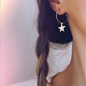Jewelry - 🆕 Dainty Star Hoops